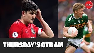 OTB AM | Disastrous United, Mitten, Kerry's Tommy Walsh, Donaghy's Shot Clock, JD's golf tips