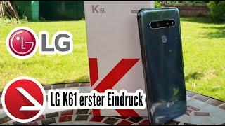 LG trumpft in der Mittelklasse | LG K61 Kurztest und Unboxing