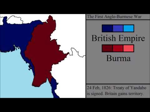 The Anglo-Burmese Wars: Every Week
