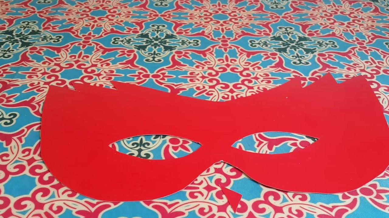 Разукрасить маску своими руками для ребенка 51