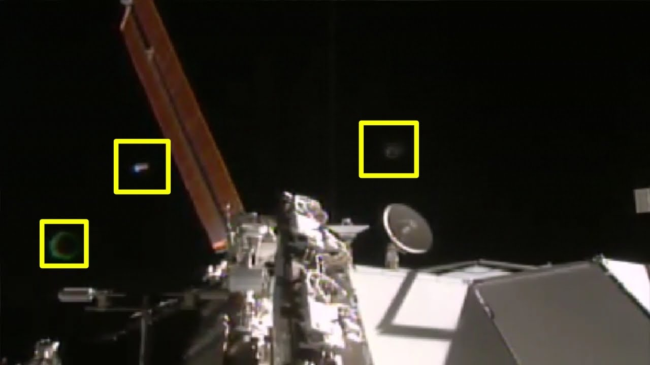 UFO NASA cuts live Space feed International Space Station ...