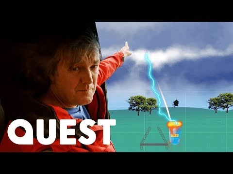 Will James Be Able To Catch A Lightning Bolt? | James May's Man Lab