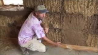 Straw Bale Construction Workshop At Turtle Rock Farm Part 2