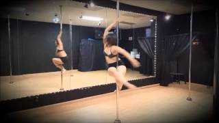 US Pole Dance Federation Competition Novice Artistic
