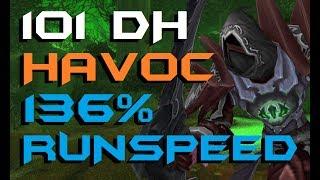 Dantaliun - Level 101 Havoc Demon Hunter Twink PvP - Legion Patch 7.2