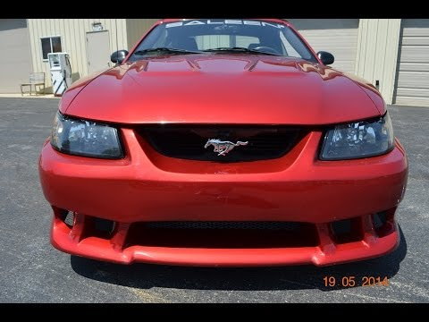 2002 Ford Mustang Saleen auto appraisal Grand Rapids Michigan & Fort Wayne Indiana