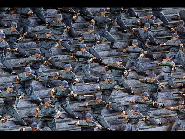 中國閱兵盛況展示力量