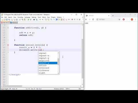 JavaScript Tutorial - 14 - Functions as Arguments thumbnail