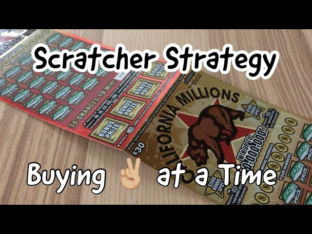 Scratcher Strategy - Two at a Time! - YouTube