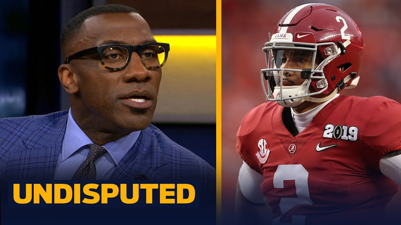 Skip and Shannon discuss Jalen Hurts' chances to win the Heisman at Oklahoma   CFB   UNDISPUTED