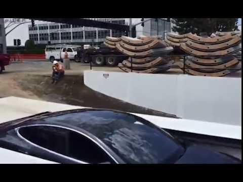 Elon Musk shares video of Boring Company car elevator