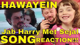 Hawayein - jab harry met sejal - song reaction!!!