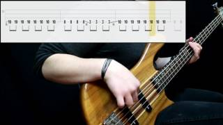 Royal Republic - Baby (Bass Cover) (Play Along Tabs In Video)
