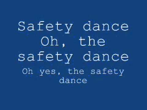 Men Without Hats - Safety Dance Lyrics