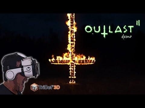OUTLAST 2 DEMO EM REALIDADE VIRTUAL (3D SBS)