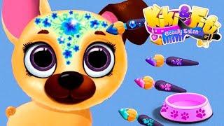 Fun Animal Pet Hair Salon - Kiki & Fifi Puppy and Kitten Beauty Salon Makeup