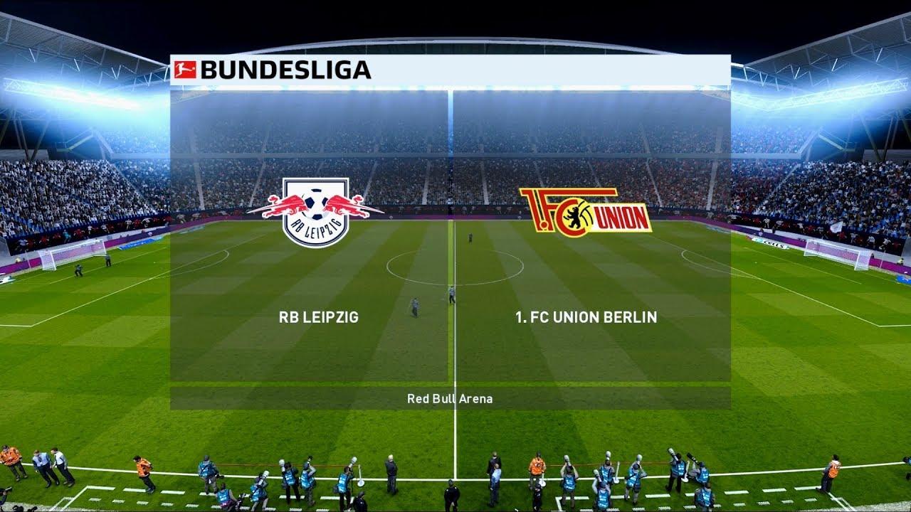 Rb Leipzig Vs Union Berlin Red Bull Arena 2019 20 Bundesliga Pes 2020 Youtube