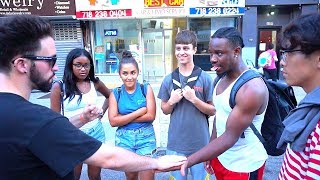 BROOKLYN REACTS TO STREET MAGIC! |  itsallanillusion