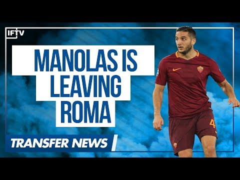 MANOLAS AGREES TO LEAVE AS ROMA FOR ZENIT ST PETERSBURG!! | Serie A Transfer News