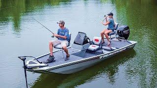 TRACKER Boats: 2016 Pro 160 Mod V Aluminum Fishing Boat