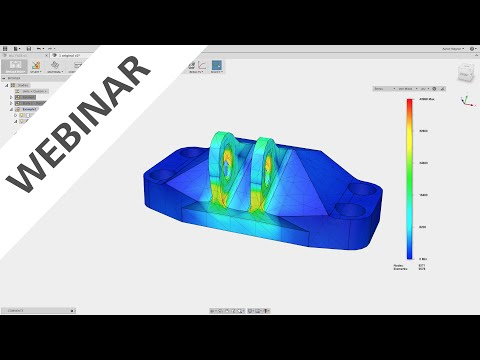 Simulation Deep Dive in Fusion 360 6-9-16