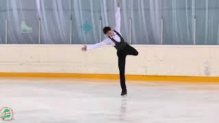 Александр Лебедев занял первое место на Чемпионате Республики Беларусь по фигурному катанию