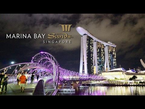 Marina Bay Sands - The 8 BILLION dollar hotel #Singapore #hotel