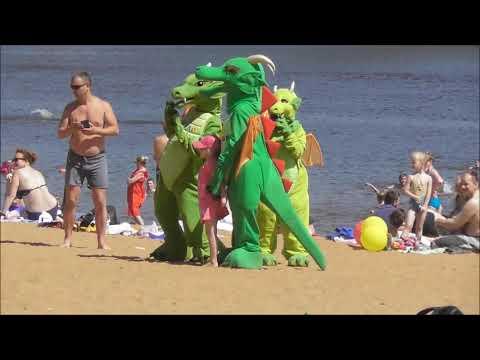 Пляж в Великом Новгороде, пляжный отдых и погода в Великом Новгороде в июне