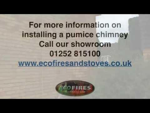 Fitting A Pumice Chimney
