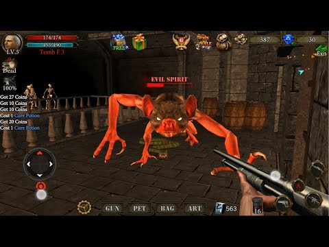Dungeon Shooter : The Forgotten Temple. A FPS & RPG Shooter Game.