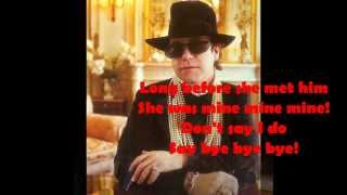Elton John - Kiss the Bride (1983) With Lyrics!