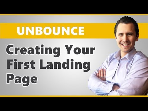 Unbounce: How To Create A Landing Page From Scratch