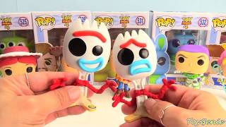 Toy Story 4 Funko Pops Forky, Woody, Bo Peep