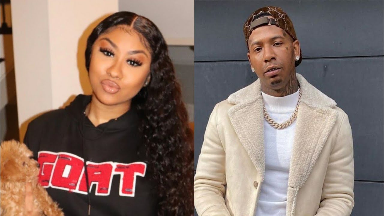 MoneyBagg Yo pulls up to the hood in Memphis today with his Girlfriend Ari Fletcher January 22, 2020