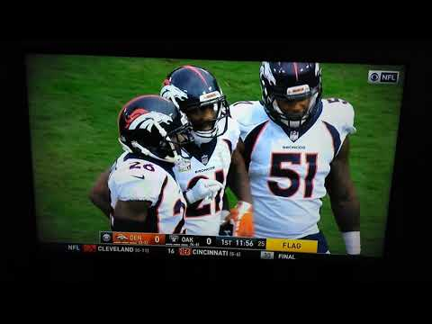 Huge Fight Michael Crabtree vs Aqib Talib (RAIDERS vs BRONCOS)