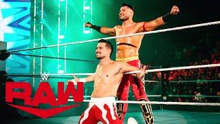 Angel Garza & Humberto Carrillo brillan en RAW: Raw Exclusive, Sept. 27, 2021
