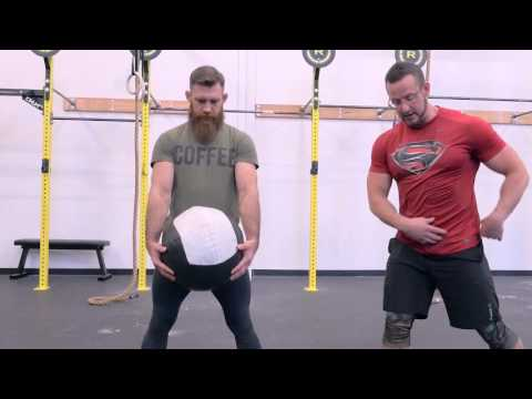 Medicine Ball Slams! 2 variations