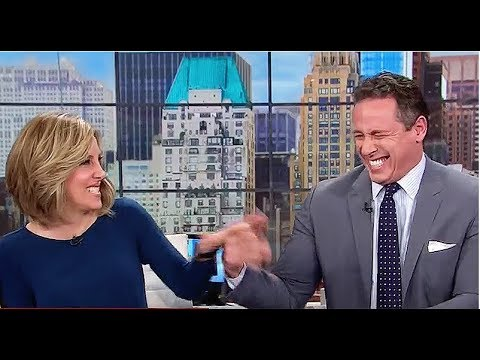 CNN's Chris Cuomo Laughs  At State Of Trumps' Marriage  || CNN NEW DAY