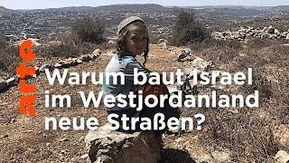 Israel: Neue Straßen fürs Westjordanland
