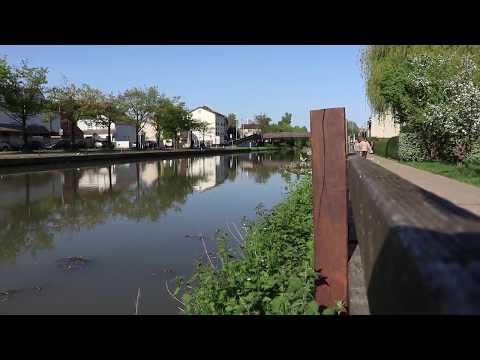 Ambiance du canal de l'Ourcq