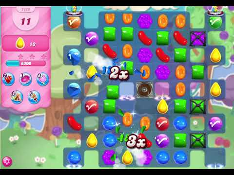 Candy Crush Saga Level 2825 NO BOOSTERS (22 moves)