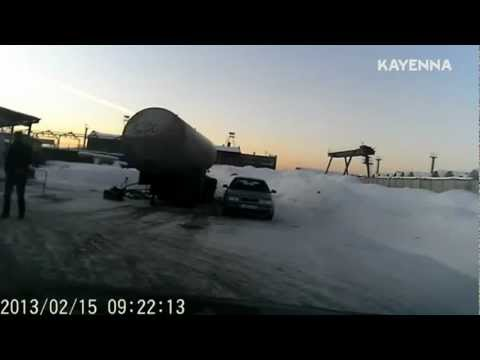 Russian Meteor RAW Video - Shock Wave of Fireball Meteor [Close up]