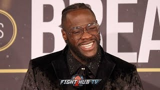 DEONTAY WILDER & TEAM ASSURE FANS ANTHONY JOSHUA & TYSON FURY FIGHTS WILL HAPPEN