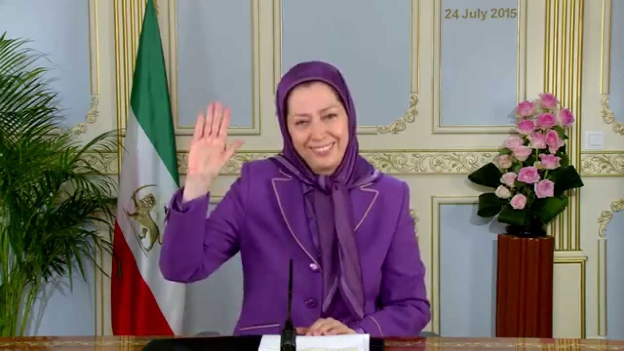 Maryam Rajavi's video message to U.S. Congress Briefing, 24 July 2015