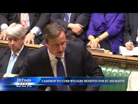 Cameron To Curb Welfare Benefits For EU Migrants