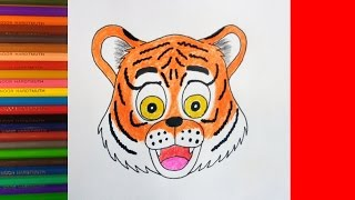 How to draw Cute Tiger, Animals, Как нарисовать Тигра(INSTAGRAM: https://www.instagram.com/dmitrysyrman/ Я в ВКОНТАКТЕ: http://vk.com/syrman_d Группа в ВКОНТАКТЕ: http://vk.com/public59608073 I'm on ..., 2017-01-20T03:52:40.000Z)