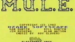 C64 m.u.l.e. music