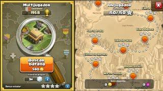 pasando los siguientes 3 niveles - clash of clans - campaña de duendes