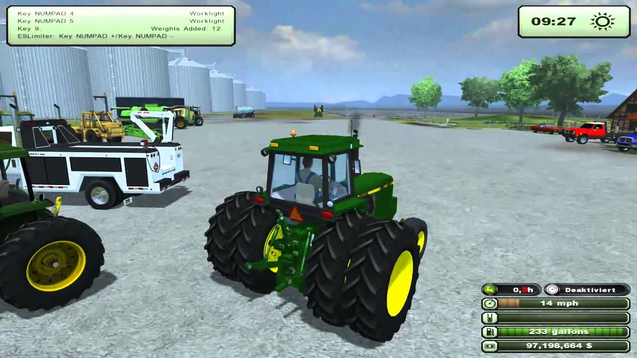 Farming simulator 2013 mods international service and lite hauler john deer tractors youtube