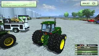 Farming Simulator 2013 Mods - International Service and Lite Hauler, John Deer tractors